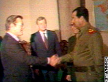 Rummy and Saddam