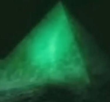Pyramid in Bermuda Triangle
